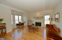 Formal living room with bay bump-out - 16080 GOLD CUP LN, PAEONIAN SPRINGS