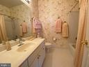 Second bedroom's private bathroom - 16080 GOLD CUP LN, PAEONIAN SPRINGS