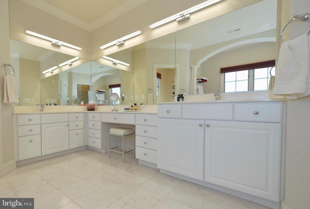 Luxurious master bathroom - 16080 GOLD CUP LN, PAEONIAN SPRINGS