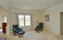 Master suite's separate sitting room - 16080 GOLD CUP LN, PAEONIAN SPRINGS