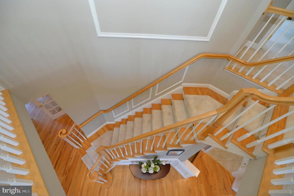 Overlook to stairs - 16080 GOLD CUP LN, PAEONIAN SPRINGS