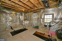 Unfinished area with egress window - 16080 GOLD CUP LN, PAEONIAN SPRINGS