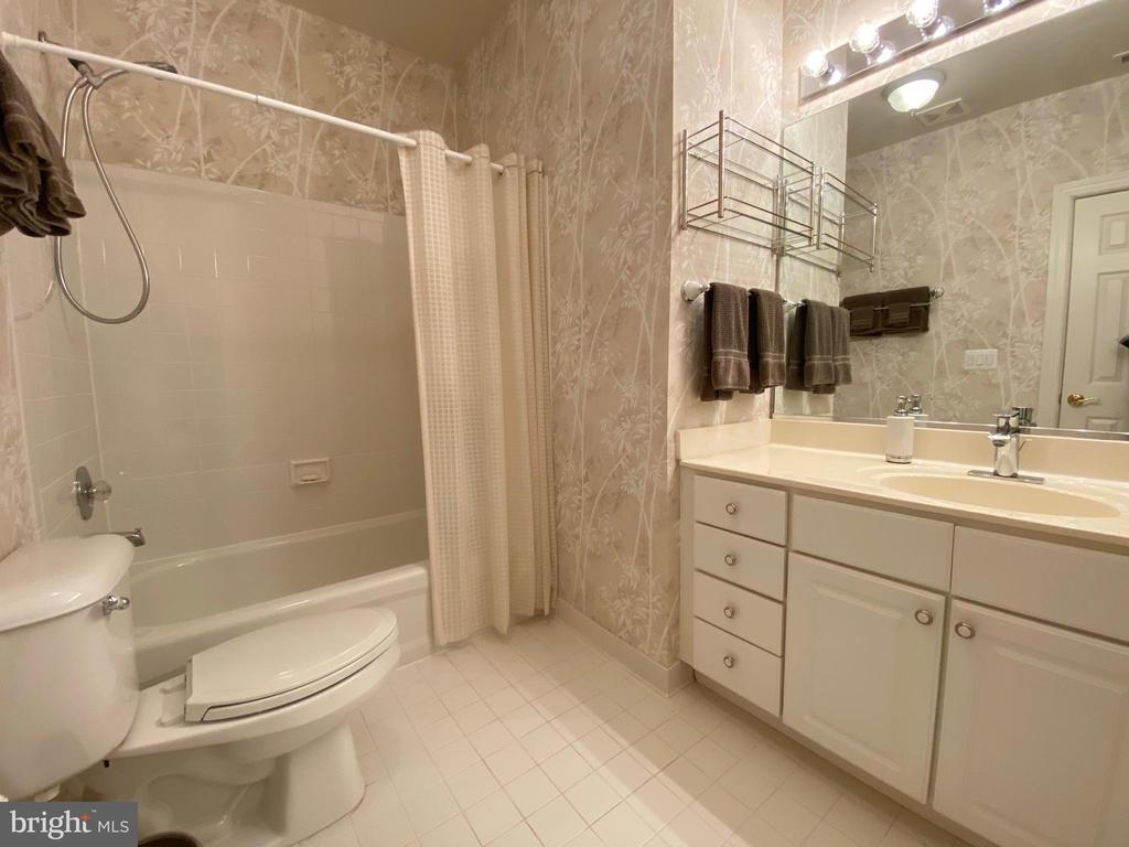 Lower level full bathroom - 16080 GOLD CUP LN, PAEONIAN SPRINGS