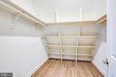 4TH BEDROOM WALK IN CLOSET - 101 FLINTLOCK CT, LOCUST GROVE