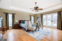 Second Floor Main Master Bedroom Suite - 9110 DARA LN, GREAT FALLS