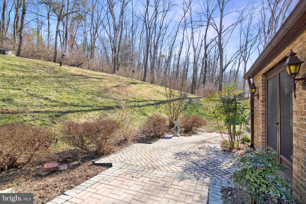 PATIO OFF FAMILY ROOM - 4616 OLD NATIONAL PIKE, MIDDLETOWN