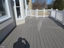 REAR CUSTOM DECK - 43 JASON LN, STAFFORD