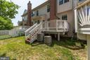 Rear pic backyard - 43214 SOMERSET HILLS TER, ASHBURN