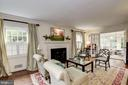 Living Room - 7600 GLENDALE RD, CHEVY CHASE