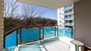balcony - 10401 GROSVENOR PL #527, ROCKVILLE