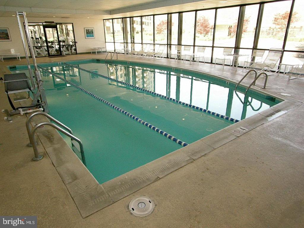 Indoor Pool - 5225 POOKS HILL RD #916N, BETHESDA