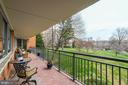 Tiled double balcony with beautiful green view - 3900 WATSON PL NW #A-2FG, WASHINGTON