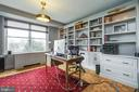 Home office with access to balcony - 3900 WATSON PL NW #A-2FG, WASHINGTON