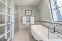Tub, shower and enclosed commode - 4921 E CHALK POINT RD, WEST RIVER