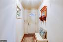 Hallway to garage - 9602 TREEMONT LN, SPOTSYLVANIA