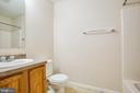 Master bathroom with tub/shower - 7517 MATTAPONI, KING GEORGE