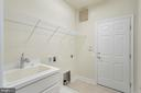 Laundry room with utility sink - 75 DENISON ST, FREDERICKSBURG