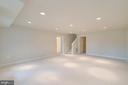 Large rec room on lower level - 75 DENISON ST, FREDERICKSBURG