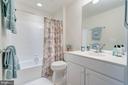 Full bath on lower level - 75 DENISON ST, FREDERICKSBURG