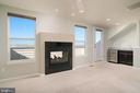 LOFT WITH DOUBLE SIDED F/P MANTEL AND  WET BAR - 45002 GRADUATE TER, ASHBURN