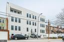 Rear of the building with parking. - 1821 I STREET NE #13, WASHINGTON