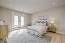 Large master bedroom - 1821 I STREET NE #11, WASHINGTON