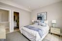 Spacious light and airy bedroom - 1821 I STREET NE #11, WASHINGTON