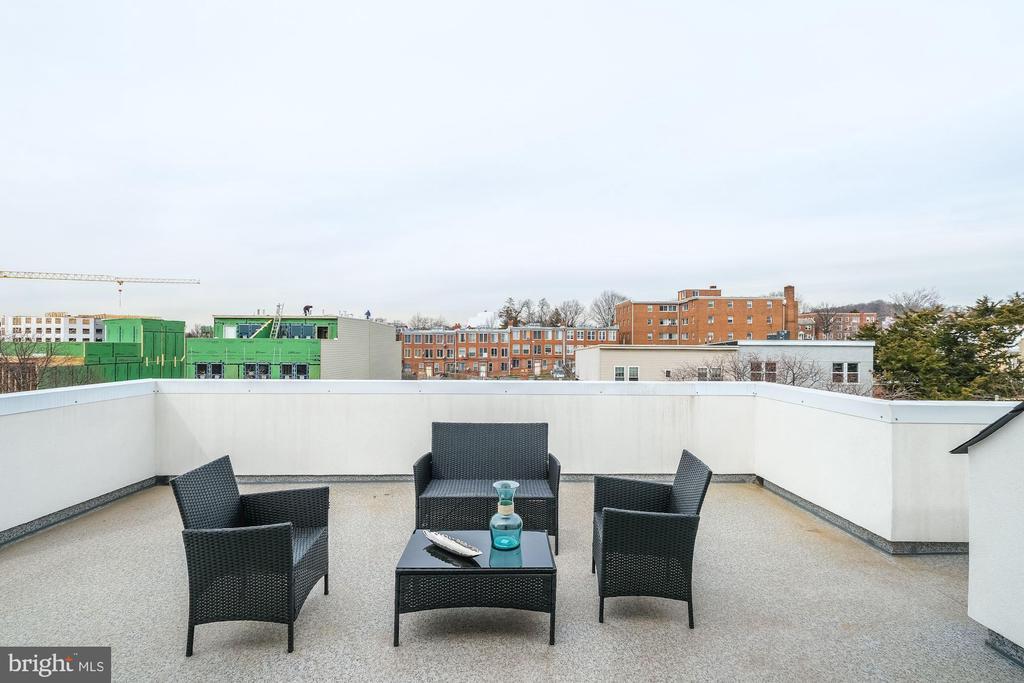 Spectacular private roof deck - 1821 I STREET NE #11, WASHINGTON