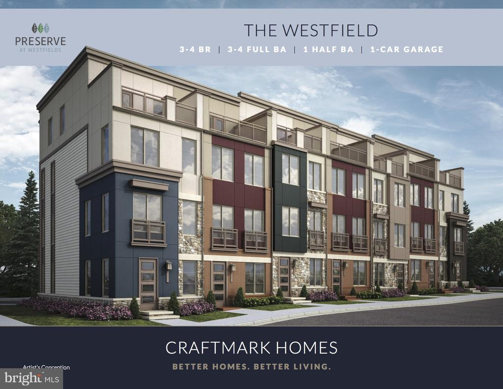 Rendering of Westfield Building - 14604 LAKESTONE DR, CHANTILLY
