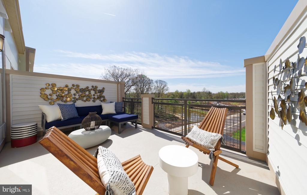 Rooftop Terrace - 14604 LAKESTONE DR, CHANTILLY