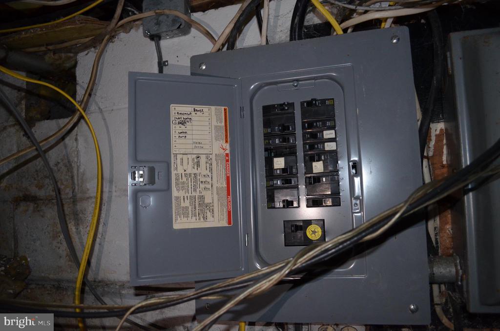 Basement - Electrical Panel - 5420 BURKITTSVILLE RD, JEFFERSON