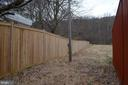 Almost Fully fenced - tall privacy fence - 5420 BURKITTSVILLE RD, JEFFERSON