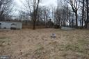 Inside fully-fenced back yard - 5420 BURKITTSVILLE RD, JEFFERSON