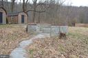 Path from home to firepit and 2 cabins - 5420 BURKITTSVILLE RD, JEFFERSON