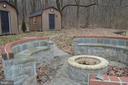 Gorgeous stone firepit - 5420 BURKITTSVILLE RD, JEFFERSON
