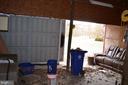Garage has electric, lighting, and storage - 5420 BURKITTSVILLE RD, JEFFERSON