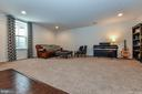 Basement rec room. - 6854 E SHAVANO RD, NEW MARKET
