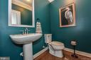 Main floor half bath. - 6854 E SHAVANO RD, NEW MARKET