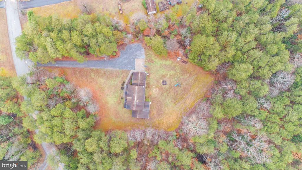 Overview directly above property - 10101 OLDE KENT DR, SPOTSYLVANIA