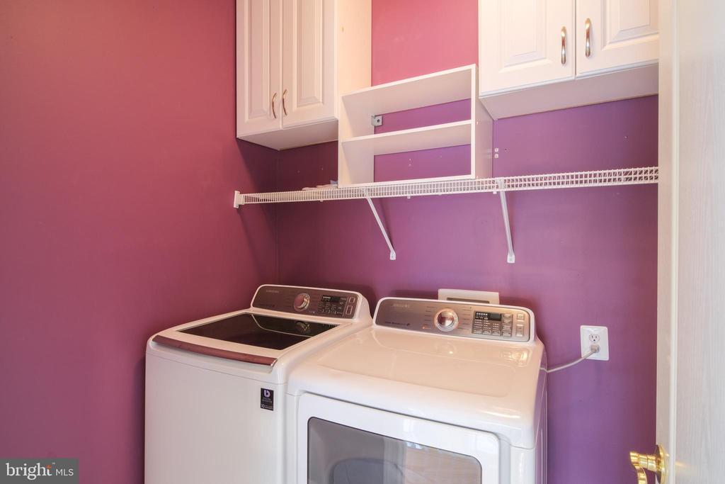 Laundry room on second floor - 13299 SCOTCH RUN CT, CENTREVILLE