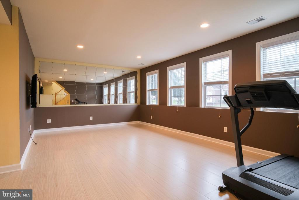 Basement with large windows - 13299 SCOTCH RUN CT, CENTREVILLE