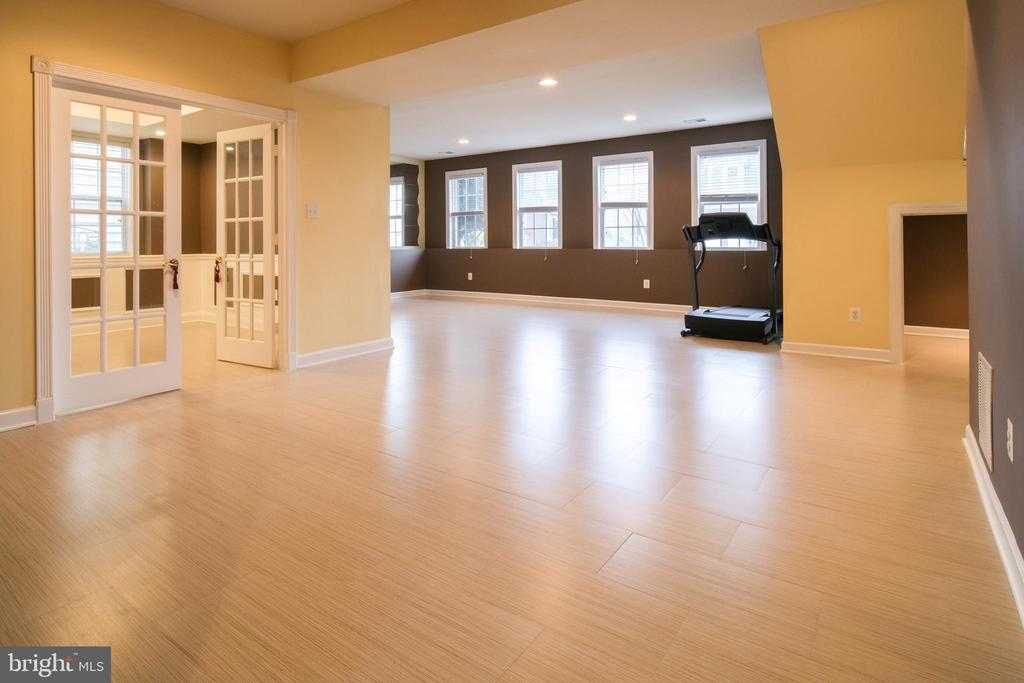 Rec room and fourth bedroom - 13299 SCOTCH RUN CT, CENTREVILLE