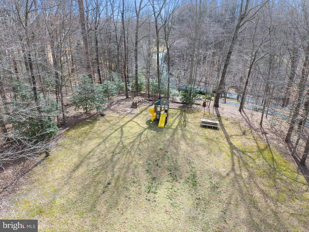Aerial of the play area - 12400 FAIRFAX STATION RD, CLIFTON