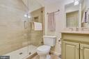 Full bath on the 2nd upper level - 12400 FAIRFAX STATION RD, CLIFTON