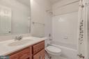 Lower Level Full Bath - 6317 ZEKAN LN, SPRINGFIELD
