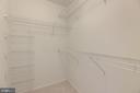 Master Bedroom 2 Walk-in Closet #1 - 6317 ZEKAN LN, SPRINGFIELD