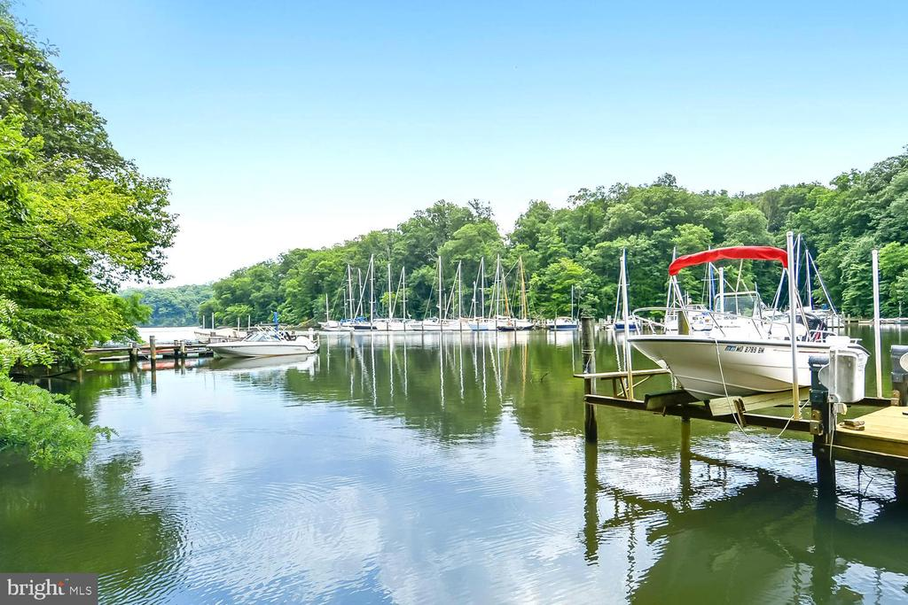 Pier on Scenic Clements Creek Off the Severn River - 1584 LANCASTER GRN, ANNAPOLIS