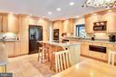 Custom Cabinetry . Built-In Fridge & Ovens - 1584 LANCASTER GRN, ANNAPOLIS