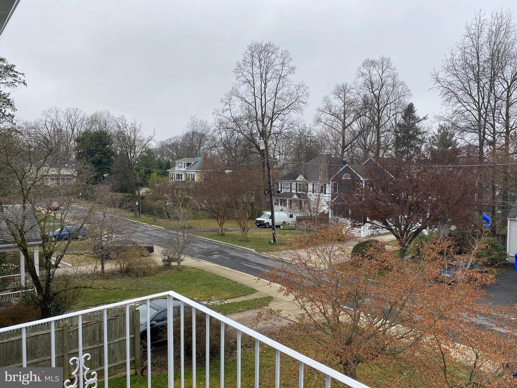 view from master balcony - 8824 1ST AVE, SILVER SPRING
