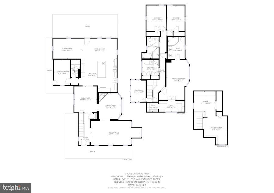 Floor Plan - 900 PARK AVE, FALLS CHURCH